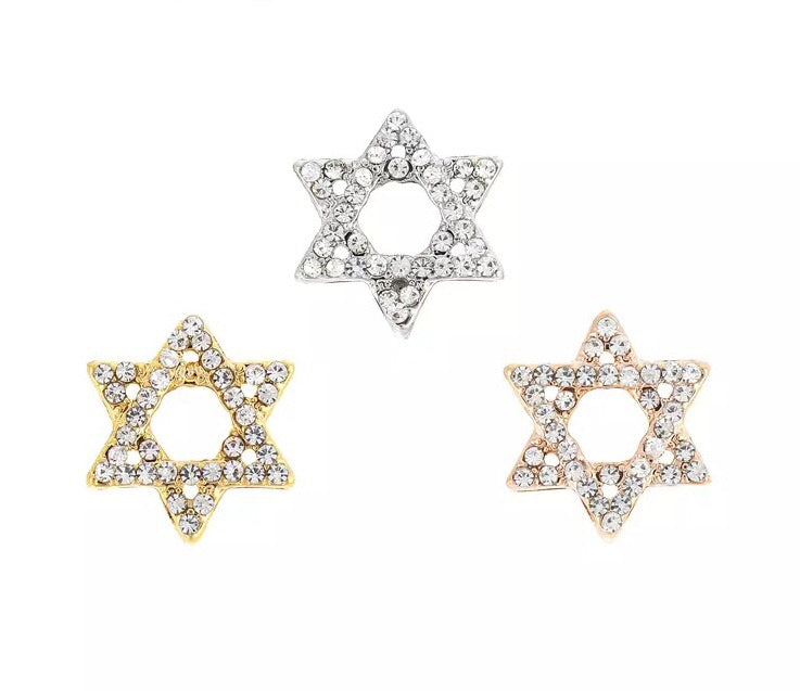 Star of David KEEP charm