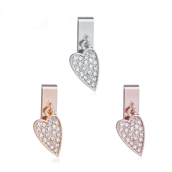 Pave pendant Heart KEEP charm