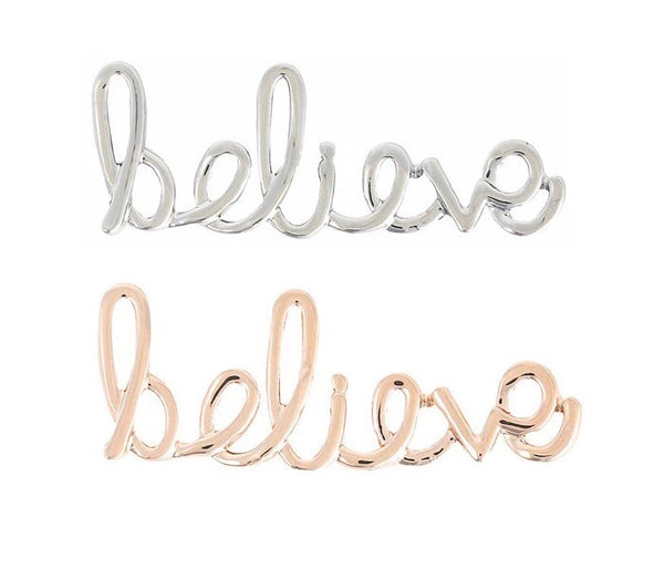 Believe KEEP charm