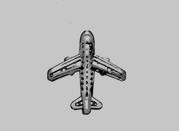 Airplane KEEP charm