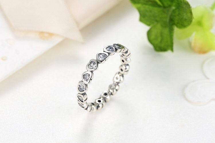 Anillo Forever Love Crystals