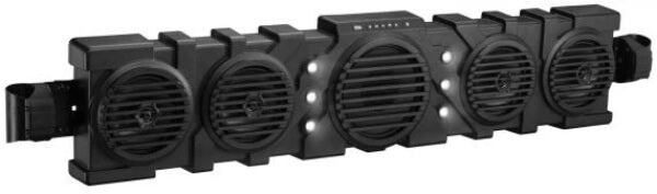 """Boss Audio Systems Reflex Overhead Bluetooth Soundbars With LED Dome Light 40"""" BRRF40A"""