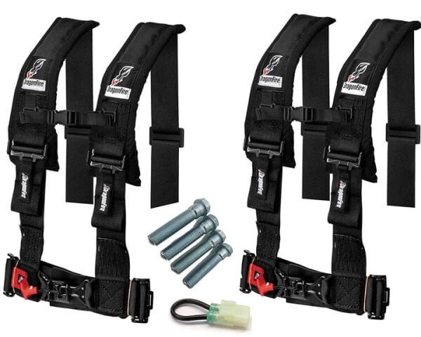 Dragonfire Racing 4-Point Harness
