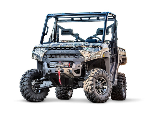 WARN Polaris Ranger Front Bumpers with Integrated Winch Mount 101708 - Rad Parts