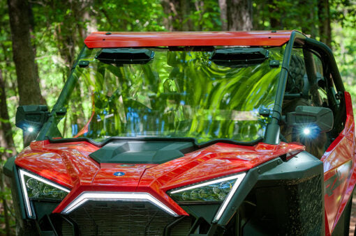 Polaris Pro Xp Windsheild Versa Vent by Seizmik