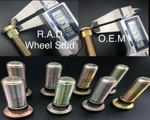 Load image into Gallery viewer, Polaris Wheel Studs For RZR 570 800 900 Rear Sportsman 3/8-24 x 1.38L By R.A.D - Rad Parts