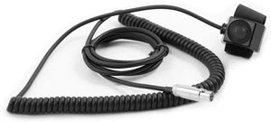 HD Coil Cord Velcro PTT for Rugged Radios Intercoms