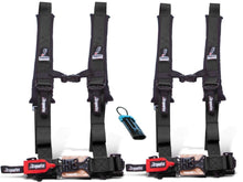"Load image into Gallery viewer, Dragonfire Racing 4-Point Harness 2"" Set of 2 with override plug - Rad Parts"