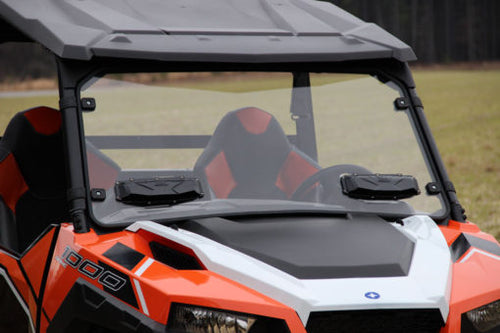 Windshield Versa-Vent Double-Sided, Scratch-Resistant Polycarbonate by Seizmik for Polaris General - Rad Parts