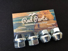 Load image into Gallery viewer, Tusk OEM Style Tapered Chrome Lug Nuts 10mm x 1.25mm Thread Pitch - Rad Parts