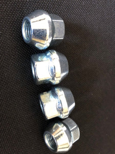 Tusk OEM Style Tapered Chrome Lug Nuts 10mm x 1.25mm Thread Pitch - Rad Parts