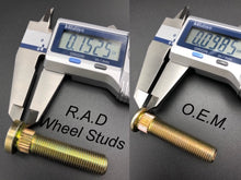 Load image into Gallery viewer, Polaris Wheel Studs for RZR 800 900 Sportsman & Ranger 570 800 900 3/8x24x1.73 By R.A.D. - Rad Parts