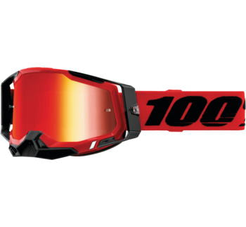 100% Racecraft 2 Goggles | Red