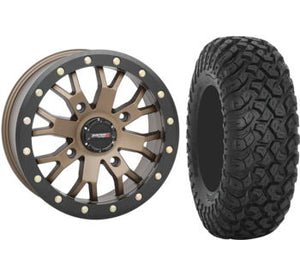 System 3 OFFROAD Beadlock Wheels Package with RT320 Race and Trail Tires - Rad Parts