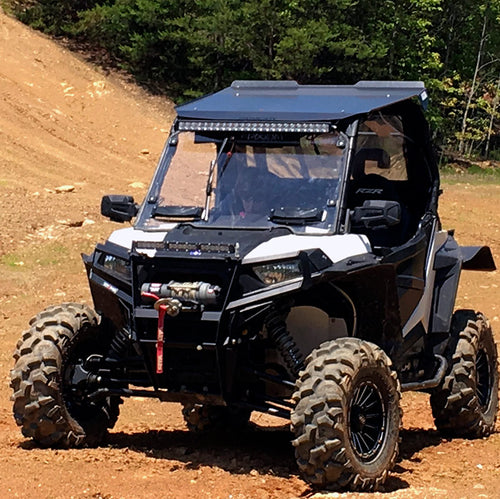 Seizmik Windshield Versa-Vent (Scratch Resistant Poly) – Polaris RZR 900S/1000S/1000XP/Turbo - Rad Parts