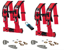 "Load image into Gallery viewer, Polaris RZR Quick Release 4 Point Harness 3"" Kits Dragonfire - Rad Parts"