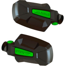 Load image into Gallery viewer, KRX 1000 Edition Seizmik Pursuit Side View Mirrors with Free Green Weather Seals