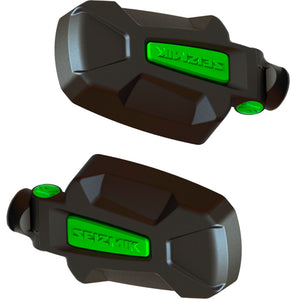 KRX 1000 Edition Seizmik Pursuit Side View Mirrors with Free Green Weather Seals