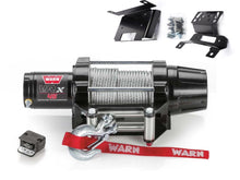 Load image into Gallery viewer, Warn VRX 45 Powersport Winch and RZR XP 1000 Mounting Kit - Rad Parts