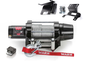 Warn VRX 45 Powersport Winch and RZR XP 1000 Mounting Kit - Rad Parts