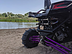 Polaris RZR Turbo EXHAUST FULL DUAL SYSTEM STAGE 5 BY TRINITY RACING WITH POWERVISION REFLASH TUNER - Rad Parts