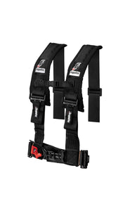 "Dragonfire Racing 4-Point Harness 3"" set of 4 with Free Override Plug **Special** - Rad Parts"