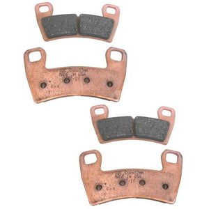 EBC SXR Series RZR Rear Race Formula Sintered Brake Pads for RZR 1000 XP, RZR Turbo, RZR 900 - Rad Parts