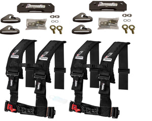 Polaris General 4 Rear Quick Release Harness Set - Rad Parts