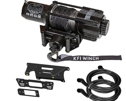 Polaris Ranger  570 900 1000 Winch Mount by KFI and Winch Package