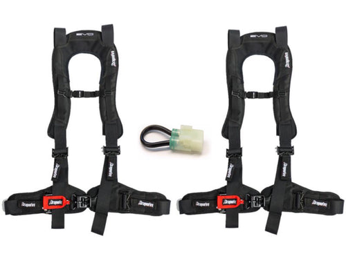 Honda Talon 4 Point Harness Kit EVO by DragonFire Racing for 14-0040