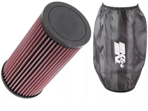 Polaris RZR K&N AIR FILTER & Pre Filter Wrap PL-1014 + PL-1014DK - Rad Parts