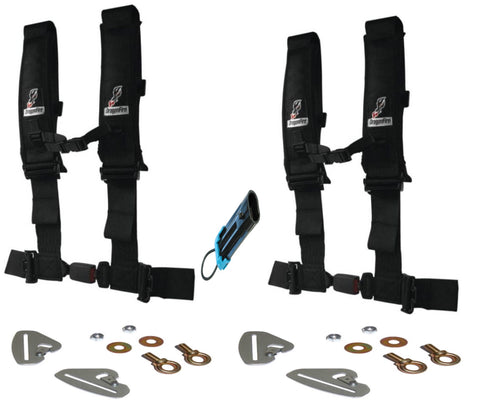 Polaris RZR Quick Release 4 Point Harness 3