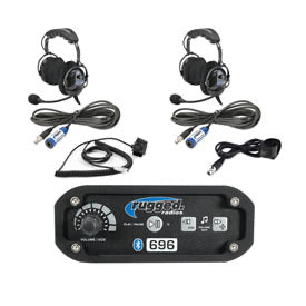 Rugged Radios RRP696 Intercom with Over The Head Headsets 696-2P-OTU