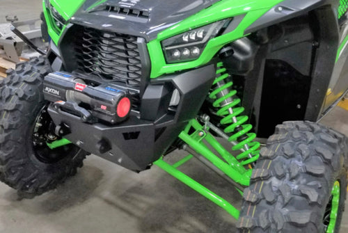 Warn Winch Mount / Bumper Cobination for Kawasaki KRX 1000
