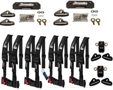 Load image into Gallery viewer, Polaris General 4 Complete Quick Release Harness Set 4 seater package - Rad Parts