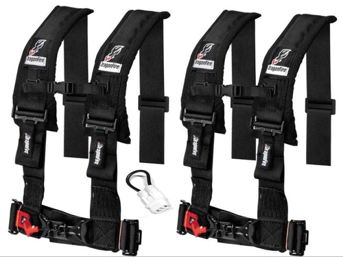 Teryx KRX 1000 4 Point Harness set by Dragonfire Racing - Rad Parts