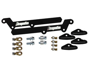 KRX Harness Mounting Brackets by Dragonfire Racing 14-4000 - Rad Parts
