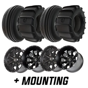 "Pro Armor Sand Tire & Wheel 15"" Kit / 30"" Tires (Mounted - 137) + Free $75 Rad Parts Gift Card"