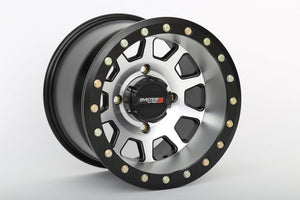 "Can Am Maverick SB-3 Beadlock Wheels by System 3  15"" Wheel with  4x137 w/ 5+2 (+30mm) Offset and 32 x 10R-15 RT320 RACE & TRAIL TIRES - Rad Parts"