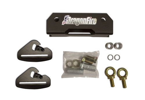 Polaris general Rear harness mounts by Dragonfire Racing 14-1104 - Rad Parts