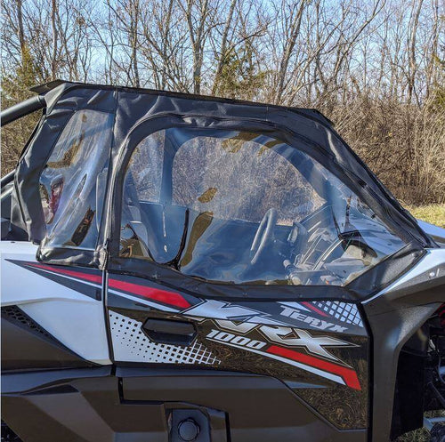 Over Armour Soft Upper Doors and Rear Window - Kawasaki Teryx KRX 1000