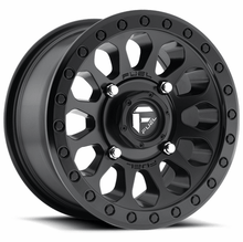 Load image into Gallery viewer, Fuel Vector D579 Matte Black Wheel Set of 4 | 4x137 | 15x7 Inch