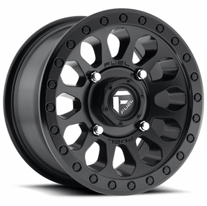 Fuel Vector D579 Matte Black Wheel Set of 4 | 4x137 | 15x7 Inch