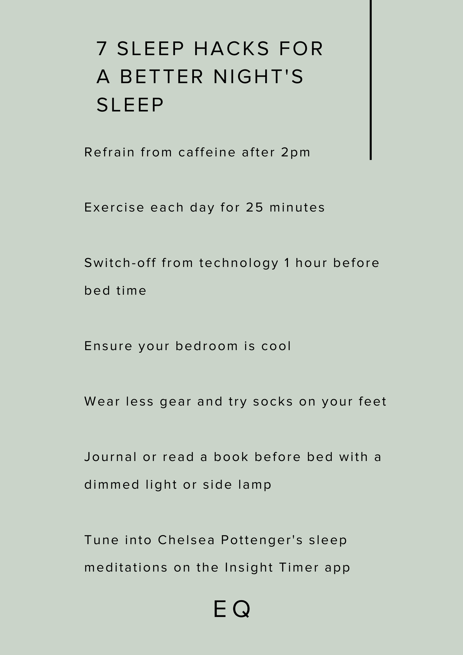 ISE - Chelsea Pottenger from EQ Minds - sleep tips