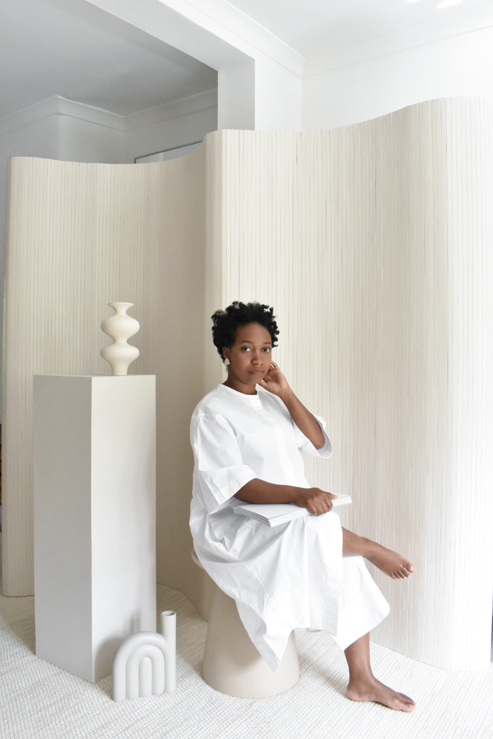 ISE - Hali Mason interview in her minimal home