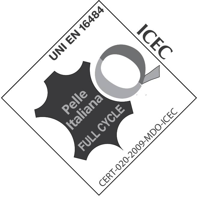 ISE - CERTIFICATIONS LOGOS - LEATHER ITALY FULL CYCLE LOGO