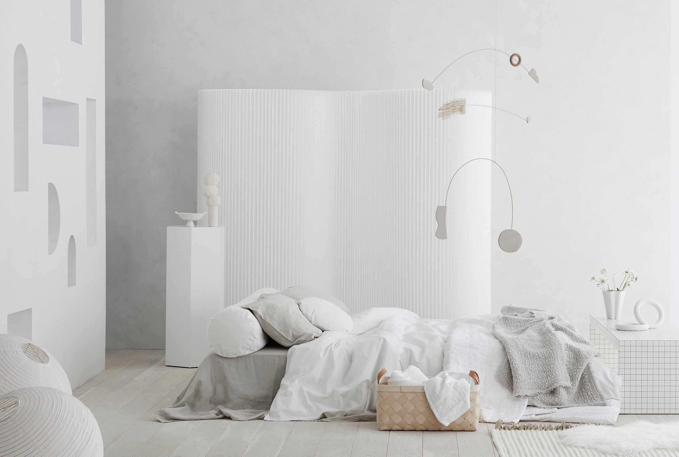 INSIDE OUT MAGAZINE - EDITORIAL - PRESS - ISE SUSTAINABLE BED LINEN BOLSTER