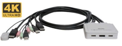 Cable KVM 4K Ultra HD