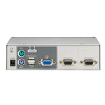 2-Port USB-PS/2 KVM Switch