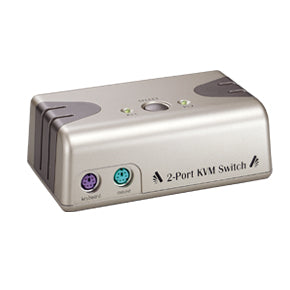 2-Port VGA PS/2 Desktop KVM Switch